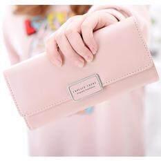 ทบทวน B Nana Beauty กระเป๋าสตางค์ใบยาว กระเป๋าเงินผู้หญิง กระเป๋าตังตามวันเกิด กระเป๋าสตางค์น่ารัก กระเป๋าตังสวยๆ รุ่น Gc 10 สีชมพู