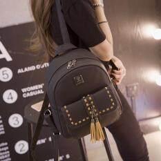 ส่วนลด B Nana Beauty กระเป๋าเป้สะพายหลัง กระเป๋าเป้เกาหลี กระเป๋าสะพายหลังผู้หญิง Backpack Women รุ่น Gb 27 สีดำ