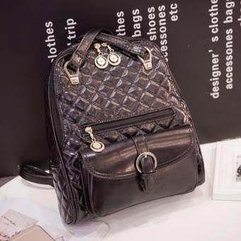 B'nana Beauty กระเป๋าเป้สะพายหลัง กระเป๋าเป้เกาหลี กระเป๋าสะพายหลังผู้หญิง backpack women  รุ่น GB-25 (สีดำ)