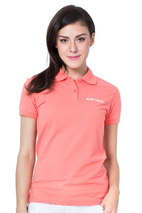 Body Glove Basic Logo Polo Women - Dark Grey