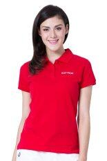 ขาย ซื้อ Body Glove Basic Logo Polo Women Red ใน กรุงเทพมหานคร