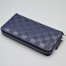 ขาย Bogesi กระเป๋าถือ ผู้หญิงใบยาว รุ่น B005 4 สีน้ำเงินมีลาย Bogesi เป็นต้นฉบับ