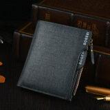 ซื้อ Bogesi Men S Short Leather Wallet With Removable Card Slot And Coin Purse 832 1 Blue ใน จีน