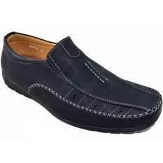 ขาย Bok รองเท้าหนังแบบสวมผู้ชาย รุ่น Bok079 Black Bok Bok เป็นต้นฉบับ