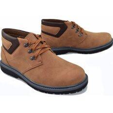 ราคา Bok รองเท้าหนังผู้ชายหุ้มข้อ รุ่น Bok135 Brown ใหม่