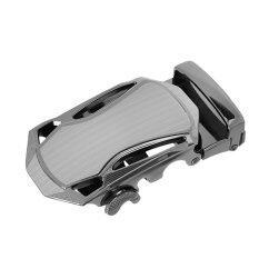 ซื้อ Bolehdeals Mens Fashion Automatic Ratchet Belt Buckle For Leather Belt 2 Intl