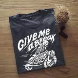 ขาย เสื้อยืดผู้ชาย ลาย Bonebike Drak Grey Dotdotdot ออนไลน์