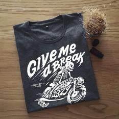 ซื้อ เสื้อยืดผู้ชาย ลาย Bonebike Drak Grey