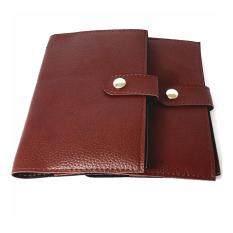 ราคา Book Bank กระเป๋าสมุดบัญชีธนาคารกระดุม สีน้ำตาล 2ใบ Unbranded Generic ไทย