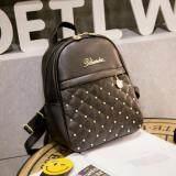 ราคา Boonsiri Shop กระเป๋าเป้ กระเป๋าสะพาย กระเป๋าแฟชั่นเกาหลี กระเป๋าเป้สะพายหลัง Bs 010 สีดำ ถูก