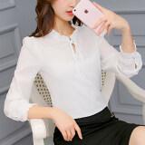 ขาย Cai Dai Fei เสื้อเชิ๊ตผู้หญิงแฟชั่นเกาหลี สีขาว สีขาว Unbranded Generic