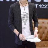 ราคา Mr Jing เสื้อทีเชิ้ต แขนยาว ทรงสลิม พิมพ์ลาย สไตล์หนุ่มเกาหลี 609 สีดำ 609 สีดำ