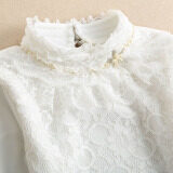 ราคา เสื้อซับในผู้หญิง ผ้าลูกไม้คอตั้ง บุขนด้านใน สีดำ สีขาว 6639 สีขาว 6639 สีขาว ออนไลน์ ฮ่องกง