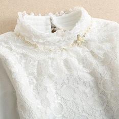 ขาย เสื้อซับในผู้หญิง ผ้าลูกไม้คอตั้ง บุขนด้านใน สีดำ สีขาว 6639 สีขาว 6639 สีขาว Unbranded Generic เป็นต้นฉบับ
