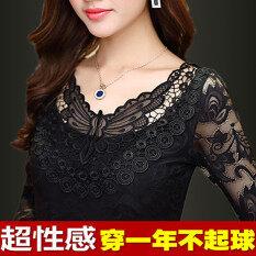 ขาย เสื้อยืดผ้าขนสัตว์ชนิดหนึ่งเสื้อแขนยาวฤดูใบไม้ร่วงและฤดูหนาวใหม่ สีดำ 9120 ส่วนบาง ฮ่องกง ถูก