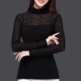 ขาย ซื้อ เวอร์ชั่นเกาหลีผ้ากอซวรรคฤดูใบไม้ร่วงคอสูงแขนยาว Bottoming เสื้อ Jacquard ใน ฮ่องกง