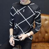 ซื้อ เสื้อ Bottoming เสื้อผ้าแฟชั่น แนวโน้มเสื้อยืดคอกลมเยาวชนชาย Multi X สีดำ ถูก ใน ฮ่องกง