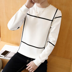 เสื้อยืดแขนยาวผู้ชาย คอกลมBushenbinni Tic Tac สีขาว Tic Tac สีขาว Unbranded Generic ถูก ใน ฮ่องกง