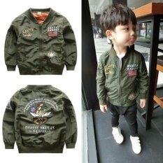 เด็กชายเสื้อแจ็คเก็ตสตรีฤดูใบไม้ผลิฤดูใบไม้ผลิ MA - 1 แจ็คเก็ตเย็บปักถักร้อยเครื่องบินทิ้งระเบิดแจ็คเก็ต - นานาชาติ