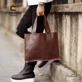 ราคา Brand Design New Korean Men S Handbag Old Sch**l Single Shoulder Bag Picture Package Bag Portable Bag Fashion Leisure Briefcase Cool Bag Coffee ถูก