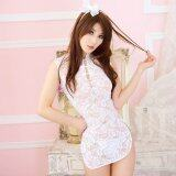 ความคิดเห็น Brand Meiniang S*xy Lingerie Uniform Seduction Suit Cheongsam Women S Classic Lace S*xy Lace Pajamas 1011 Intl
