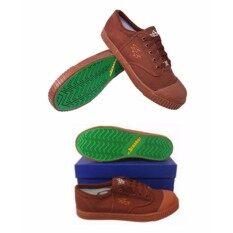 ส่วนลด รองเท้าผ้าใบนักเรียน Breaker 4X4 สีน้ำตาล Breaker ใน กรุงเทพมหานคร