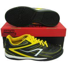 ขาย รองเท้ากีฬา รองเท้าฟุตซอล Breaker Bk 122 ดำเหลือง เป็นต้นฉบับ