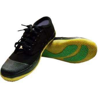 รองเท้าผ้าใบนักเรียนฟุตซอล Breaker Futsal BK4 สีดำ