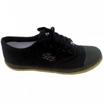 Breaker futsal รองเท้าผ้าใบนักเรียนสีดำ