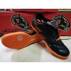 ทบทวน ที่สุด Breaker รองเท้าฟุตซอล รุ่น Bk0805 สีดำ ส้ม