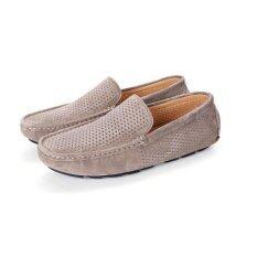 ราคา Breathable Men Loafers Brand Slip On Gentlemen Moccasins Soft Flat Driving Loafers Boat Shoes Intl Unbranded Generic เป็นต้นฉบับ
