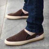 ขาย Britsh Men S Casual Canvas Sneakers Slip On Loafer Moccasin Zapato Breathe Shoes Intl Intl Unbranded Generic เป็นต้นฉบับ