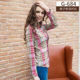 ขาย คนรักเสื้อ Brushed เสื้อเชิ้ตหญิงแขนยาวฤดูใบไม้ผลิ G 684 Unbranded Generic