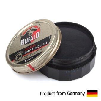 Bufalo บัฟฟาโล่ ขี้ผึ้งขัดเงารองเท้าหนัง (สีดำ) 75 มล.