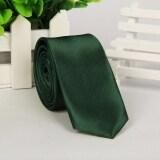 ขาย Business Men S Plain Silk Jacquard Woven Tie Necktie Dark Green Intl Intl ถูก ใน จีน