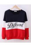 ราคา Buytra Women Colored Sweatshirt Casual Thick Long Sleeve Blue Red ใหม่