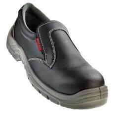 Buzzy Bull Sport รองเท้าเซฟตี้ ไม่มีเชือก พื้นพียู เบา หัวเหล็ก พื้นมีแผ่นเหล็ก กันไฟฟ้าสถิตย์ ใหม่ล่าสุด