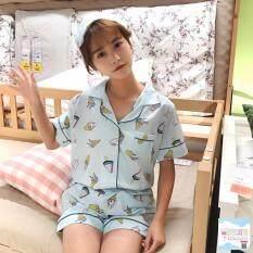 ราคา ชุดนอน By Jang ชุดนอนเสื้อแขนสั้น พร้อมกางเกง ชุดนอน 110 ที่สุด