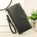 ซื้อ Byt Baellery Korean Style Women Multifunction Big Capacity Leather Zipper Wallet 13848 3 Black ถูก ใน จีน