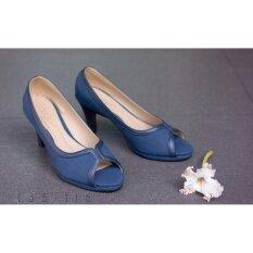 ทบทวน รองเท้าผู้หญิง แฟชั่น รุ่น C35 116 Blu