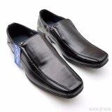 ซื้อ Cabaye รองเท้าหนังผู้ชาย รองเท้าคัทชู Ca133 Black Cabaye ถูก