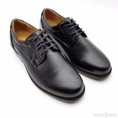 Cabaye รองเท้าคัทชูชายมีเชือก Ca301 Black กรุงเทพมหานคร