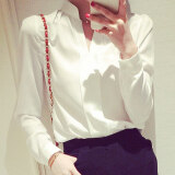 ซื้อ Caidaifei เสื้อผ้าแฟชั่น เสื้อแฟชั่นฤดูใบไม้ผลิและฤดูร้อนใหม่ของผู้หญิง สีขาว ออนไลน์ ถูก