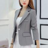 ขาย Caidaifei เกาหลีฤดูใบไม้ผลิและฤดูร้อนใหม่หญิงนางสาวชุดสูท สีเทา Rrr96