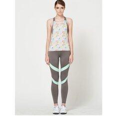 โปรโมชั่น Unizep เสื้อกล้ามออกกำลังกายแบบมีบราในตัว Camisole Playful Painted รุ่น 6200 Unizep