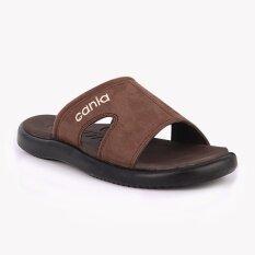ขาย รองเท้าแตะ Cania คาเนีย รุ่น Cn52049 สีน้ำตาล Cania