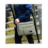 ราคา กระเป๋าสะพายข้างผู้ชาย สะพายไหล่ แคนวาส Canvas Messenger Style Bag สีเขียว Generic เป็นต้นฉบับ