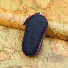 ขาย Car Key Wallets Genuine Leather With Zipper Black Intl Yingjie ถูก
