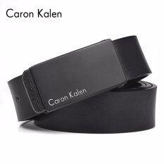 ซื้อ Caron Kalen ผู้ชายยี่ห้อ Deisnger เข็มขัดหัวเข็มขัด Ck 2 สีดำ สนามบินนานาชาติ ใน จีน