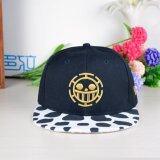 ขาย Cartoon Cap Korean Men Hip Hop Hat(Black) Intl Tap